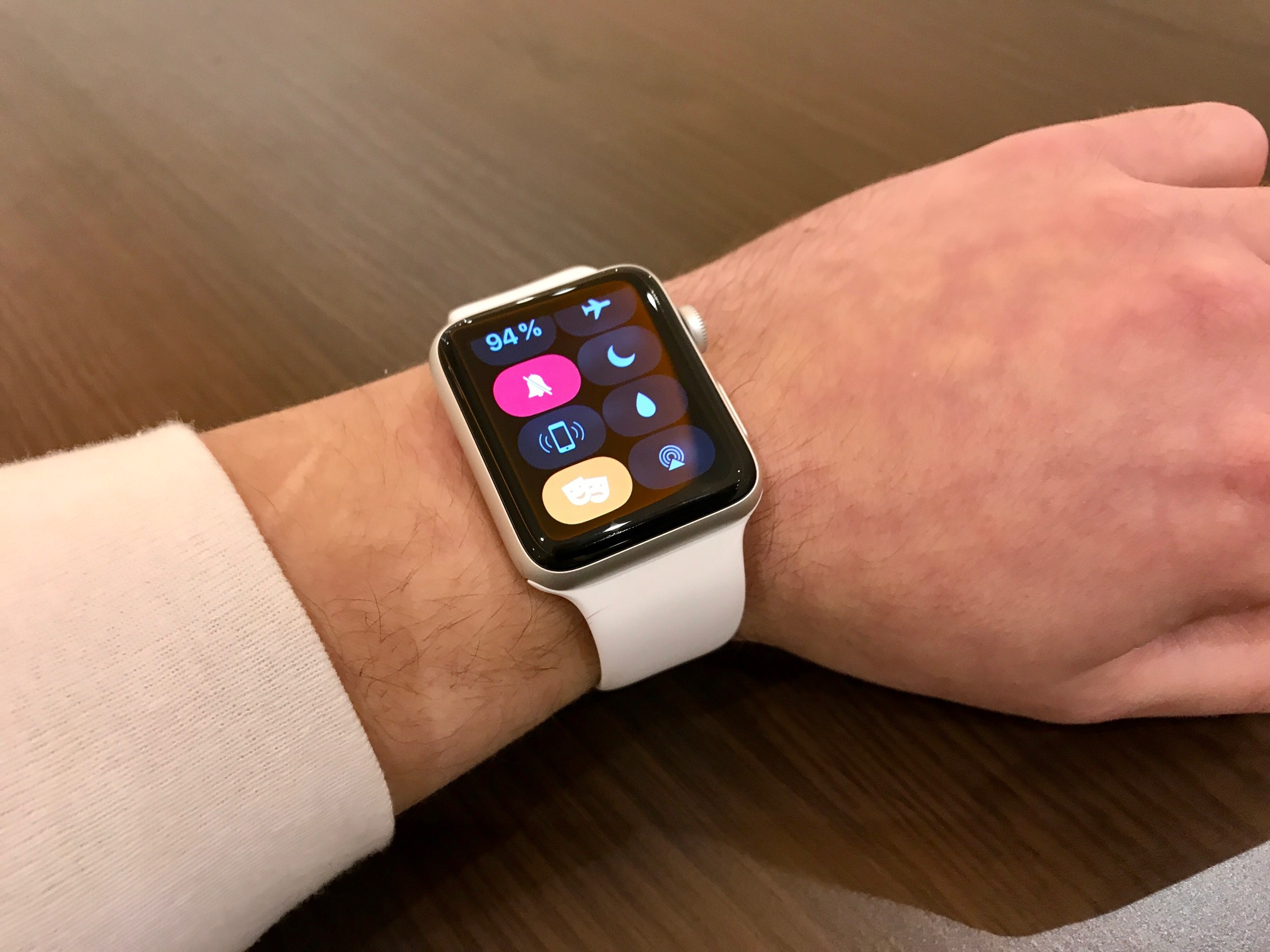 Apple Watch: Theatermodus
